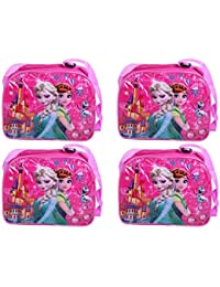 Cartoon Printed Sling Bags Pack Of 6 | Kids Bags For School Use