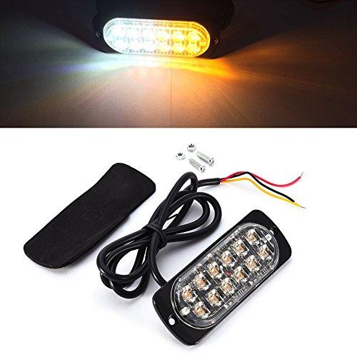 Preisvergleich Produktbild 36W superdünn High Leuchtdichte LEDs Auto Truck Seite Kontrollleuchten High Power LEDs Stroboskoplicht