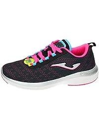 Joma C.knitro Lady 601 Negro-rosa - Zapatos polideportivas al aire libre Mujer