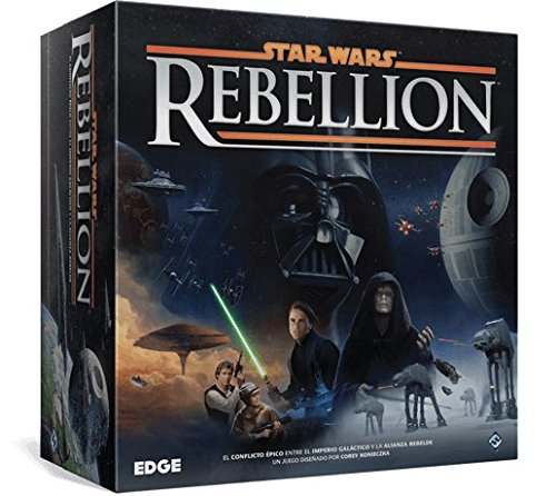 Star Wars Rebellion conflicto épico entre el Imperio Galáctico y la Alianza Rebelde (Edge Entertainment EDGSW03)