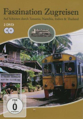 Preisvergleich Produktbild Faszination Zugreisen - Tansania,  Namibia,  Indien und Thailand [2 DVDs]