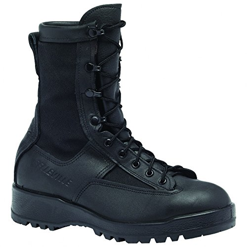 Belleville 700V WP Black Combat Flight Boots Mens Black
