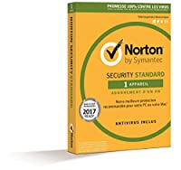 Norton Security 2017 Standard (1 appareil / 1 an) - (PC/Mac/Android/iOS)