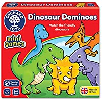 Orchard Toys Dinosaur Dominoes Mini / Travel Game