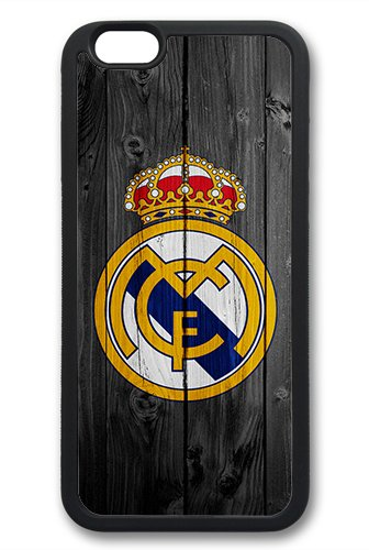 Coque silicone BUMPER souple IPHONE 6/6s - Real Madrid football la liga CASE tpu DESIGN + Film de protection INCLUS 1