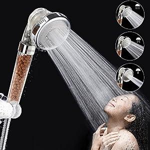 """I 5 migliori soffioni """"ionici"""" per doccia tipo Zen Shower con sfere minerali"""