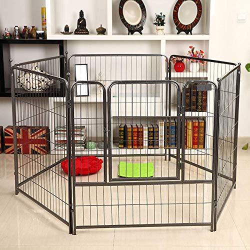 Barrière pour Animaux domestiques, Petite Porte d'isolement détachable pour Cage de Chien de Taille Moyenne - 4 Couleurs / 2 Tailles