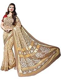 Bhavi Saree Tassar Silk Saree (Bhvp13317_Brown)