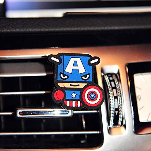 Xinsushp Home Auto Aria condizionata Auto Personalizzato Cartella di Foto sfogare Profumo all\'Interno delle Ornamenti Auto Ornamenti del Fumetto Creativo della personalità