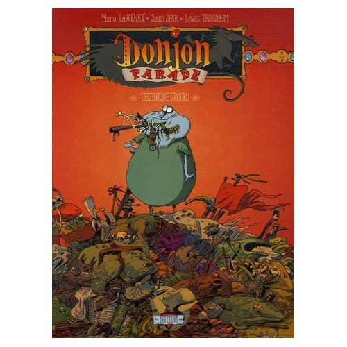 Donjon Parade, Tome 5 : Technique Grogro