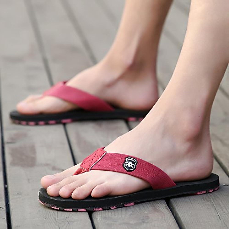 Hausschuhe  Herren Sommer Flip Flops  Herren Outdoor Strandschuhe  große Pantoffeln