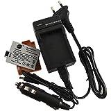 DSTE Rechange Batterie et DC27E Voyage Chargeur pour Canon LP-E5 EOS 450D 500D 1000D Kiss F X2 X3 Rebel XS XSi T1i Digital Caméra