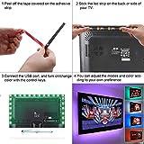 150 cm TV LED posteriore di illuminazione Kit, ANSCHE 5V striscia USB RGB LED, impermeabile Bias Illuminazione per HDTV e PC Monitor (ridurre leffetto occhi fatica e aumentare la nitidezza delle immagini) [Classe di efficienza energetica A+]