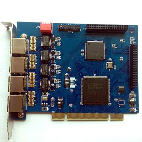 Scheda Asterisk TE405P ISDN PRI 4 porte E1 / T1,PCI,Elastix,FreePbx