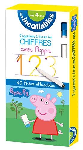 Les incollables - J'apprends à écrire les chiffres avec Peppa Pig par Collectif