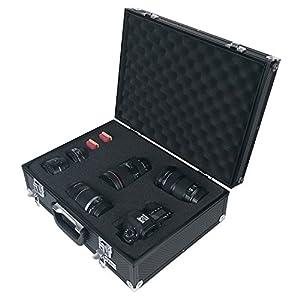 HMF 14501-02 Valise pour Appareil Photo, coffre pour armes, mousse prédécoupée, 46 x 16,5 x 36,5 cm