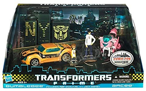 Transformers Prime Bumblebee and Arcee NYCC Exclusive Action Figure 2 Pack by Hasbro