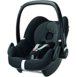 maxi cosi pebble babyschale gruppe 0 0 13 kg schwarz mit isofix station baby. Black Bedroom Furniture Sets. Home Design Ideas