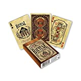 Fournier Baraja Poker Bicycle Bourbon, Juegos de Cartas, Roasted