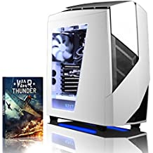 VIBOX Rapture L780-22 Gaming PC Ordenador de sobremesa con Cupón de juego (4,5GHz Intel i7 Quad-Core Procesador, MSI Armor GeForce GTX 1080 Tarjeta Grafica, 8GB DDR4 RAM, 2TB HDD, Sin OS)