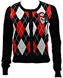 Bioworld Merchandising / Independent Sales Womens Womens Harley Quinn Cardigan Sweater