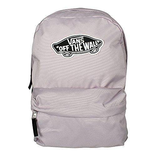 Imagen de vans realm backpack  tipo casual, 42 cm, 22 liters, rosa sea fog