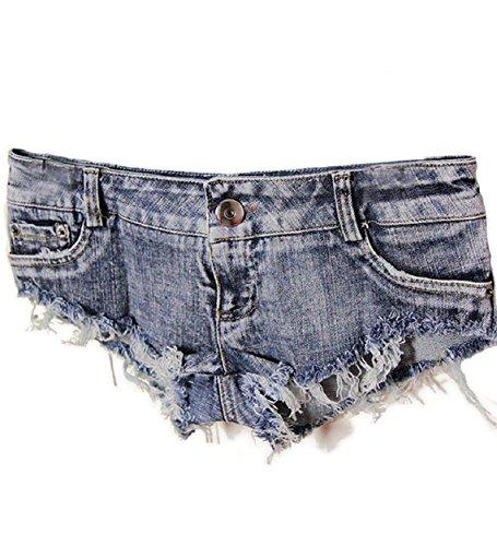 Malloom® Sexy Cut Off Low Waist Women Denim Jeans Shorts Short Mini Hot Pants