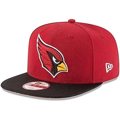 New Era Nfl Sideline 9Fifty Aricar Otc - Berretto Linea Arizona Cardinals da uomo, colore Rosso, taglia S-M