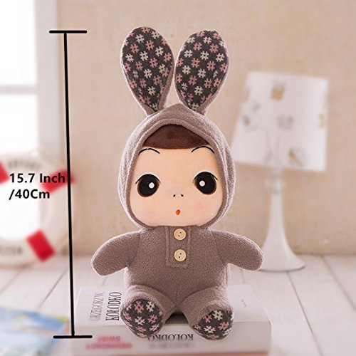 """Preisvergleich Produktbild Edealing (TM) 15.7 """"Super nette Baby-Kind-Plüsch-Spielzeug-interaktive Puppe ein vollkommenes Geschenk -Brown"""