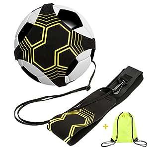 Football Kick / Lancer Entraîneur Solo Entraînement Pratique de Contrôle de l'Aide à la Formation Ceinture Réglable pour Enfants Adultes
