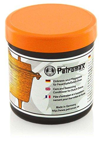 Petromax Einbrenn- und Pflegepaste für Feuertöpfe/Dutch Oven (250ml) (Finger-tipp-schutz)