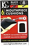 BG Mouthpiece Black Cushions for Clarinet & Saxophone - Small (A10S)