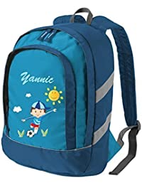 Preisvergleich für Mein Zwergenland Kinderrucksack Bicolor mit Namen & Wunschmotiv, 6 L