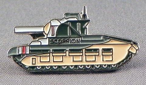 Metal Enamel Pin Badge WW1 Military Army Matilda Tank (Scorpion)