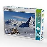 Ein Motiv aus dem Kalender Eiger, Mönch und Jungfrau 2017 1000 Teile Puzzle quer (CALVENDO Natur)