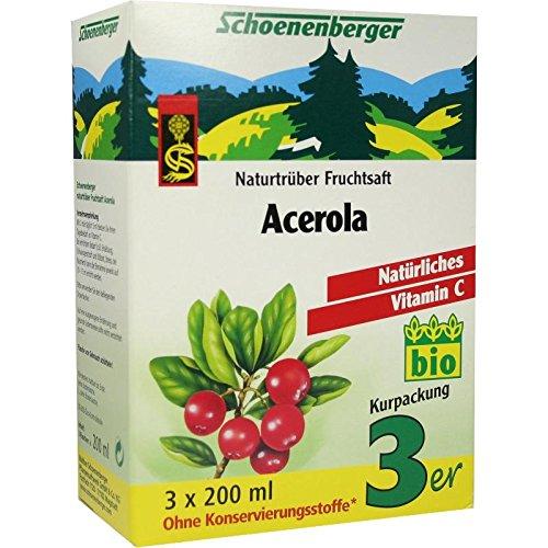 ACEROLA SAFT Schoenenberger Heilpflanzensäf 3X200 ml