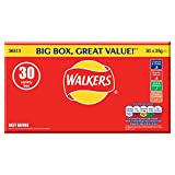 Walkers Crisps Variety Value Box (Packung mit 30)