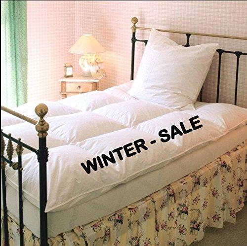Canadian-Dreams POLAR 135x200 extra warme Winter Daunendecke 1380g canadische Gänsedaunen Wärmeklasse 6 (135x200 cm)