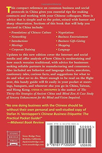 Chinese Business Etiquette: The Practical Pocket Guide, Revised and Updated