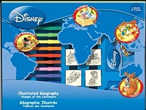Noris - Tampón para Sellos Disney Importado de Alemania