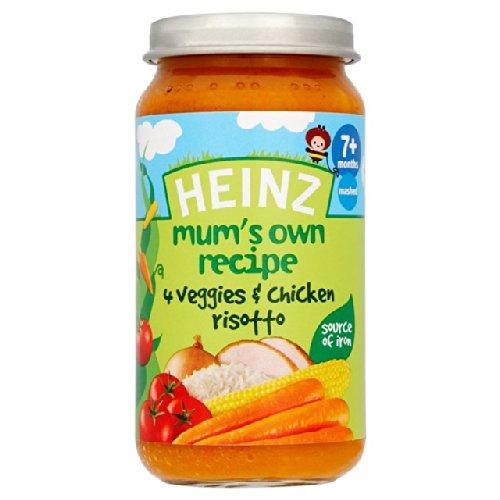 Heinz Mum's Own 4 Veggies & Chicken Risotto 7+ Mths 200g