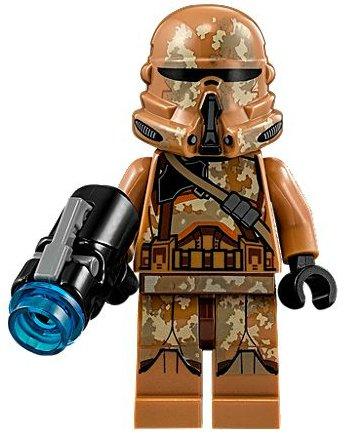 LEGO Star Wars The Clone Wars Minifigur - Geonosis Clone Trooper 1 (2015) Star Wars Clone Wars Trooper