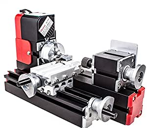 motorisierte mini metallbearbeitung drehmaschine schleifmaschine heimwerkerutensilien metall. Black Bedroom Furniture Sets. Home Design Ideas