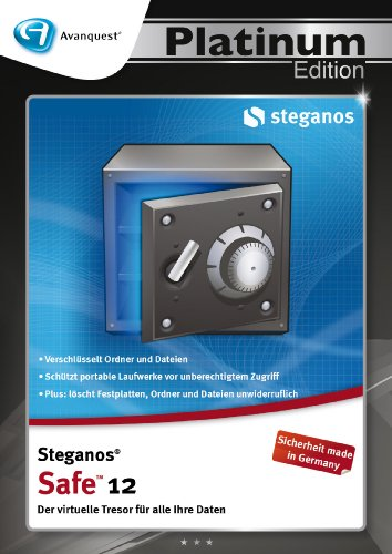 Steganos Safe 12 - Avanquest Platinum Edition