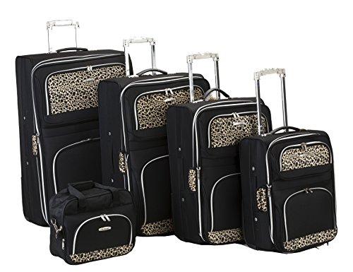 rockland-5-piece-luggage-set-black-one-size