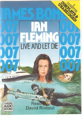 Live and Let Die Unabridged Audio book.Rare