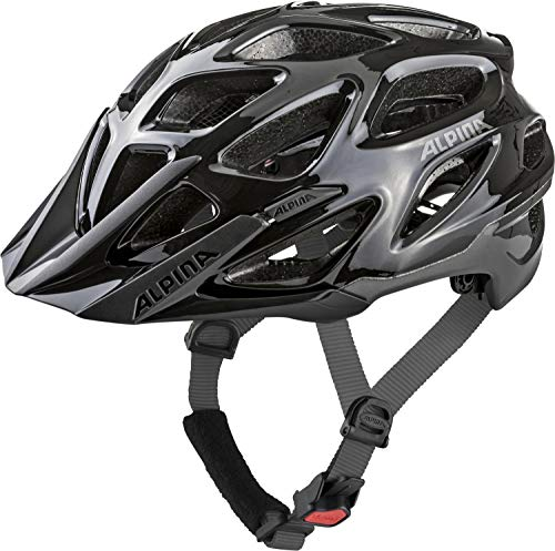 ALPINA Mythos 3.0 Fahrradhelm, Black/Anthracite, 57-62 cm