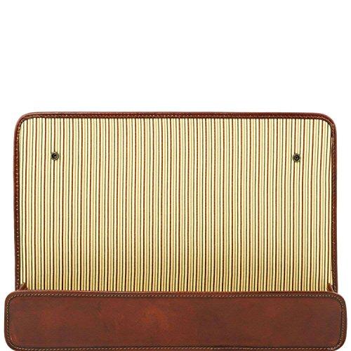 Tuscany Leather - TL Smart Module - Porte Module - Marron