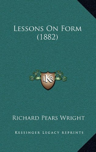 Lessons on Form (1882)