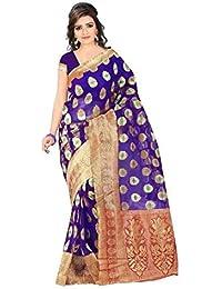 sr Product WomensBanarshi tisu(Purple)
